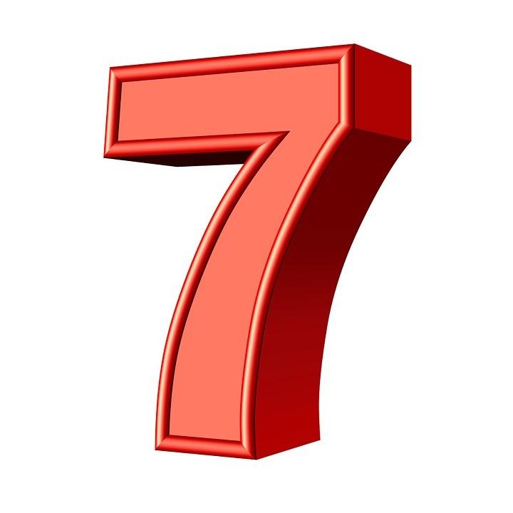 Le nombre 7
