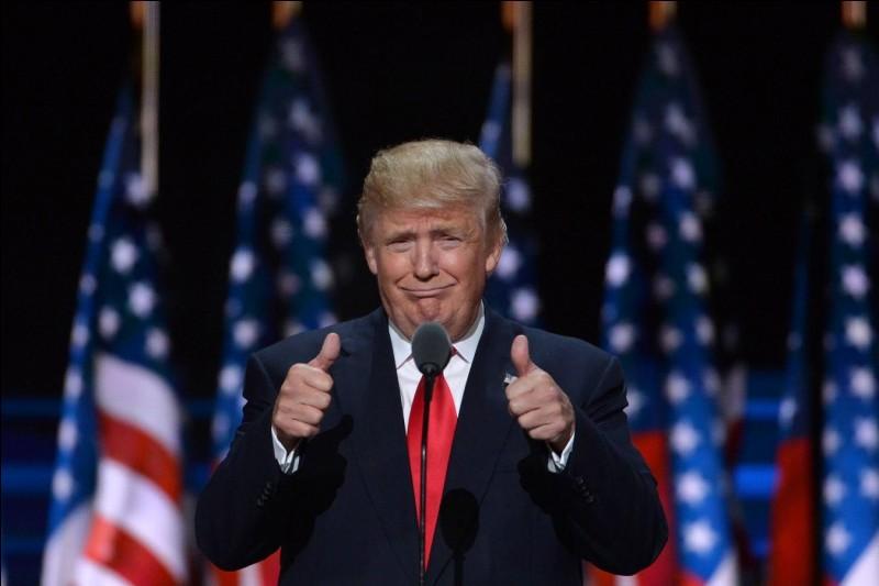 Quelle est la particularité de Donald Trump par rapport aux autres présidents américains ?