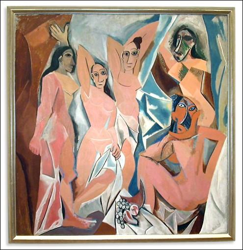 """""""Les Demoiselles d'Avignon"""" est considéré comme le tout premier tableau cubiste."""