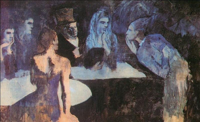 """""""Les Noces de Pierrette"""" est un tableau peint en période ..."""