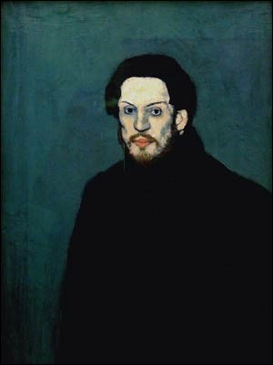 Voici l'autoportrait de Picasso. Quel âge avait-il à ce moment là ?