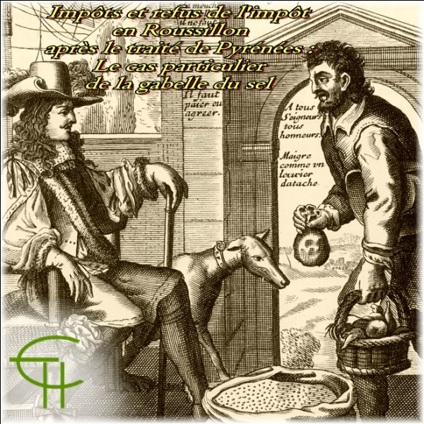 Au Moyen Âge, au temps de la gabèle, le sel des gens était taxé et on vérifié le montant de leur impôt.