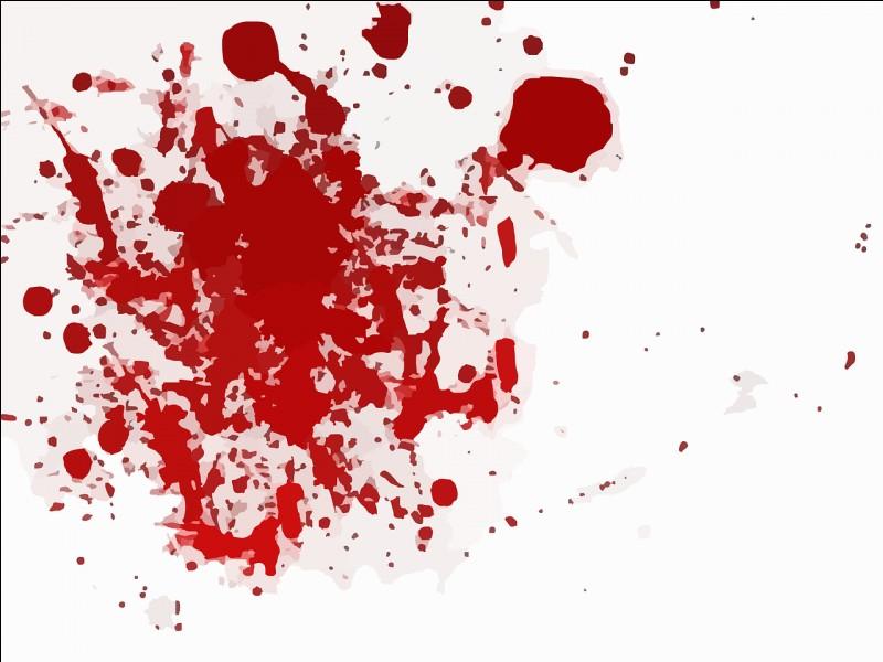 Son groupe sanguin est :
