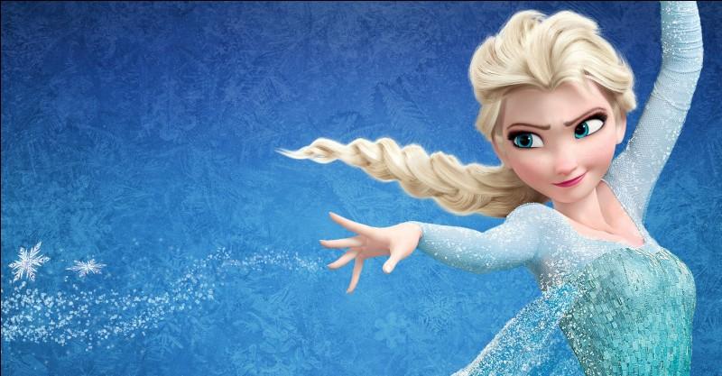 Quelle est la couleur des yeux de la reine des neiges ?