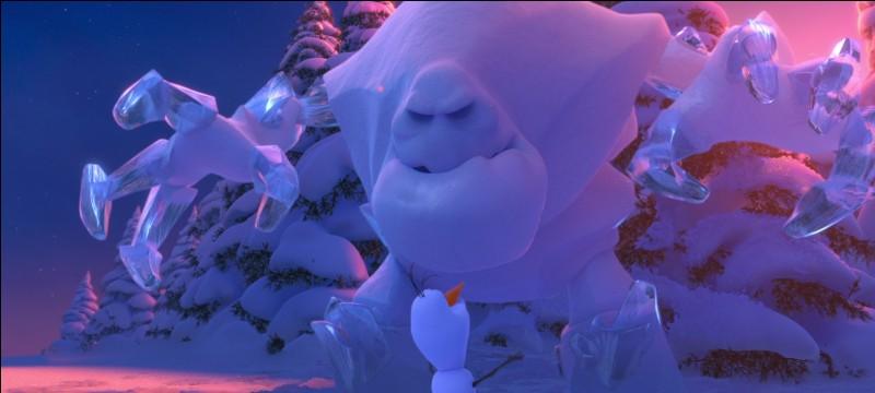 Qui est ce monstre créé par Elsa ?
