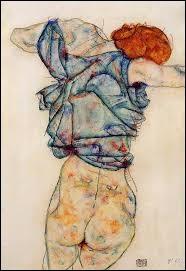 """Ce tableau s'intitule """"Femme déshabillée"""". Qui est l'auteur de cette toile ?"""