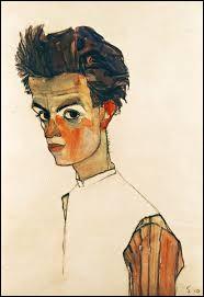 """Retrouvez l'auteur de """"Autoportrait avec une chemise à rayures""""."""
