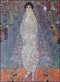 """Cochez l'homme ayant peint """"Portrait de la baronne Elisabeth Bachofen-Echt""""."""