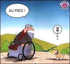 Qu'est-ce qu'une manifestation d'aveugles ?