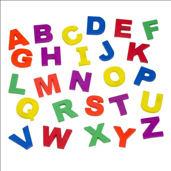 Quelles sont les lettres les moins visibles ?
