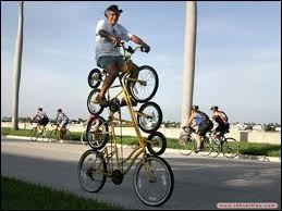 Qu'est-ce qu'un roux sur une bicyclette ?