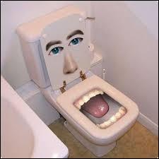 Pourquoi les belges prennent un escabeau pour aller au toilette ?