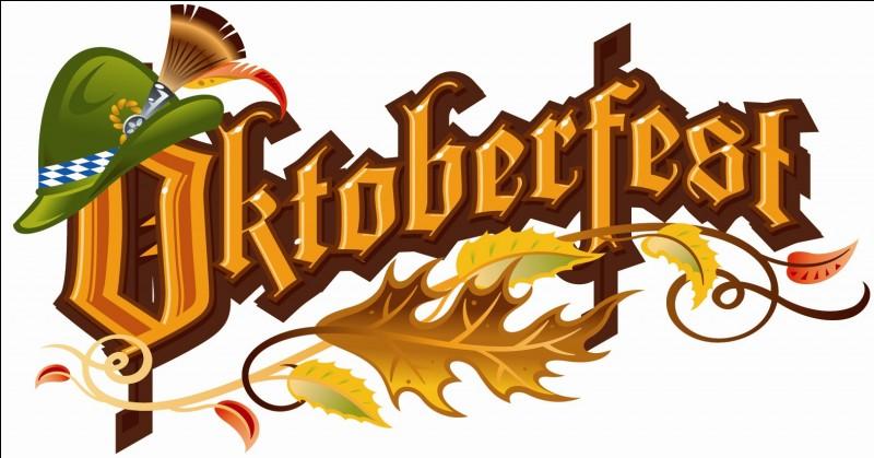 L'Oktoberfest commence en octobre.