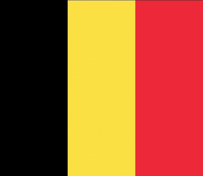 Quelles sont les couleurs du drapeau belge en plus du rouge ?