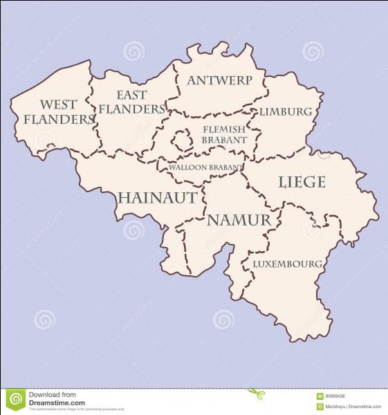 Combien de provinces composent la Belgique ?