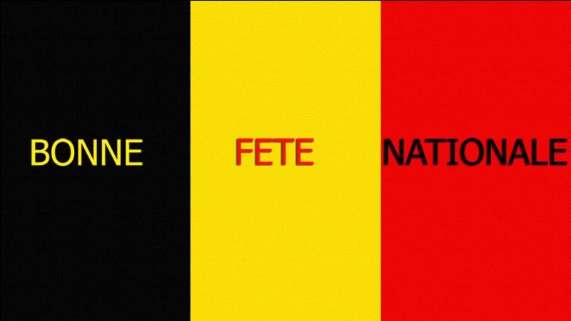Quel jour de juillet est la fête nationale en Belgique ?