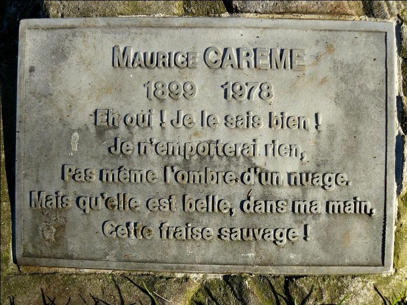 Maurice Carême était-il belge ?