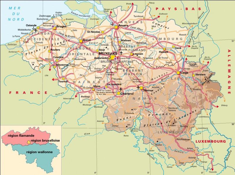 Combien de fleuves coulent en Belgique ?