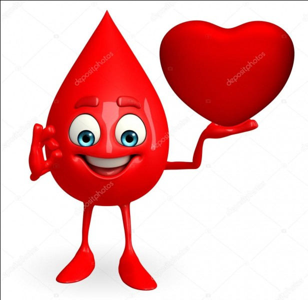 Le groupe sanguin AB+ est considéré comme donneur universel de globules rouges.
