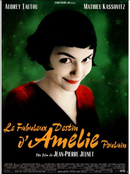 """Mathieu Kassovitz joue dans le film """"Le Fabuleux Destin d'Amélie Poulain""""."""