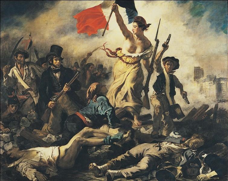 Ce tableau a été peint par Eugène Delacroix.
