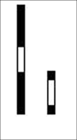 Comment sont les barres blanches ?
