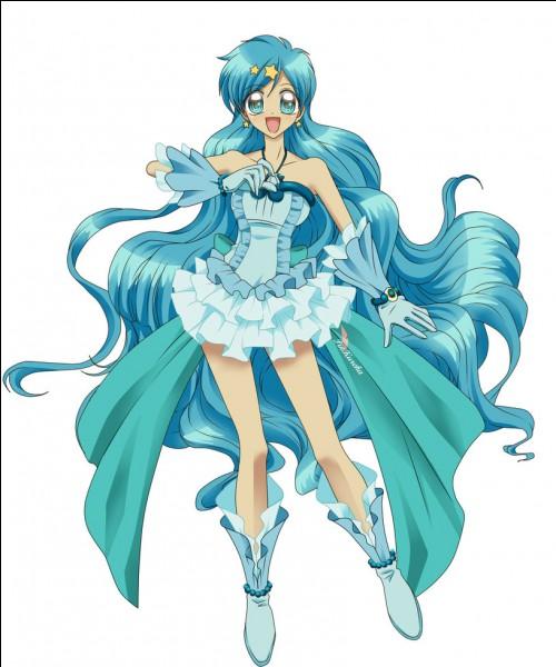 Quel est le prénom de la princesse aux cheveux bleus ?