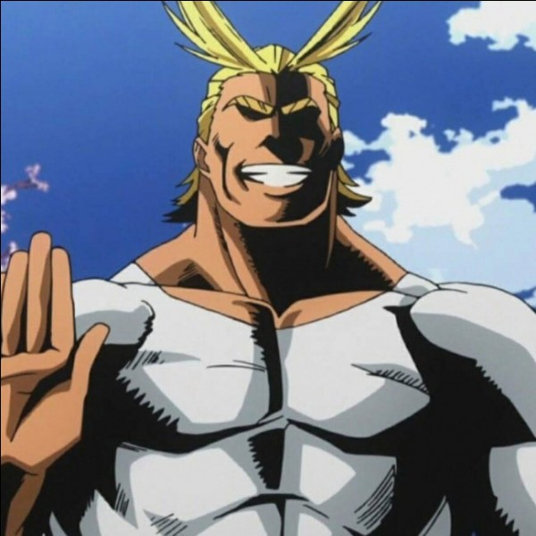 Quel est le vrai nom d'All Might ?