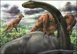 Le brontosaure mesurait et pesait :