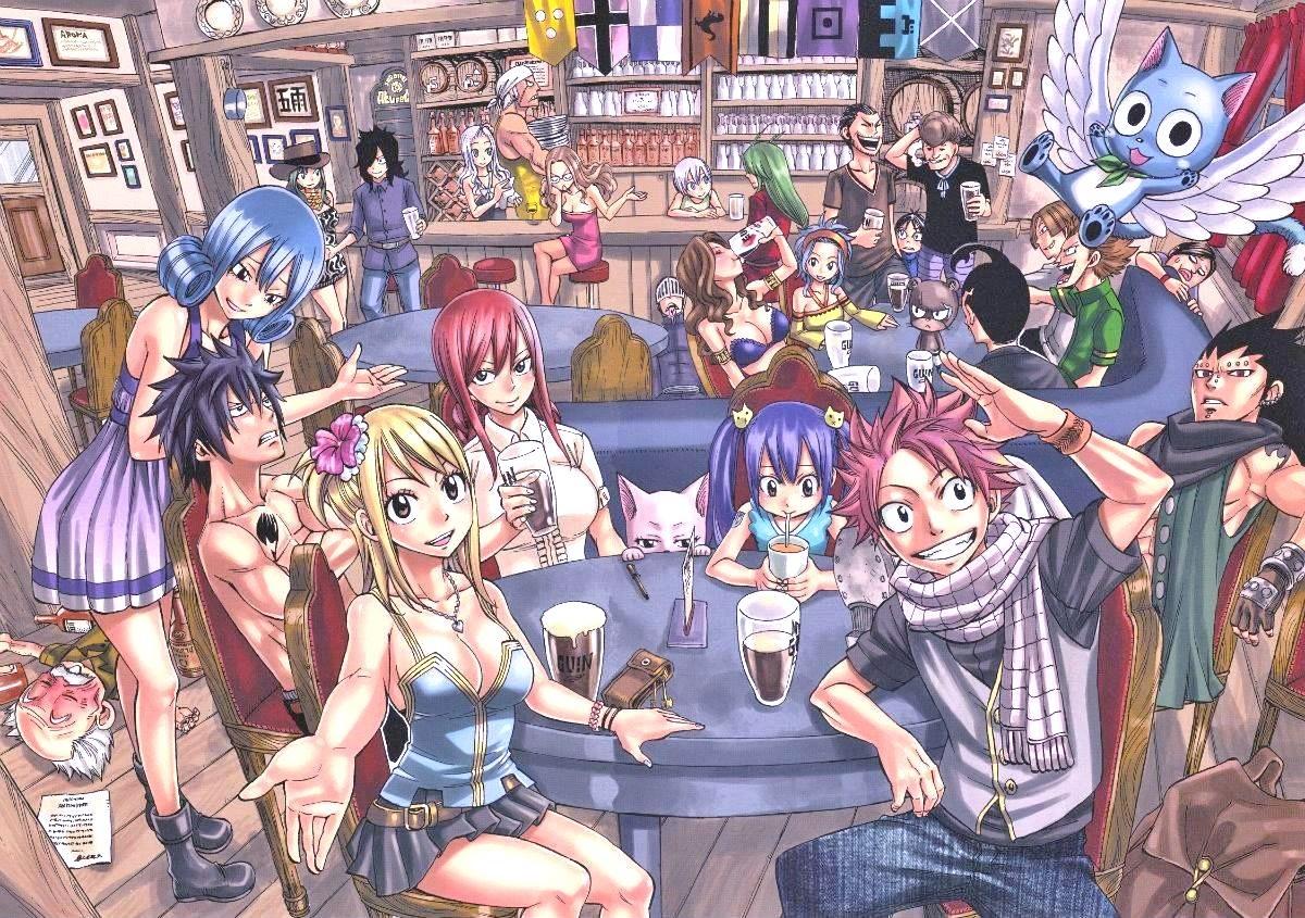 Bienvenue à Fairy Tail !