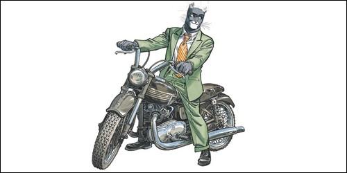 Quel métier exerce John Blacksad dans le bande dessinée du même nom ?