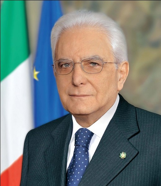 Sergio Mattarella est l'actuel président d'Italie. (mai 2018) Vrai ou faux ?