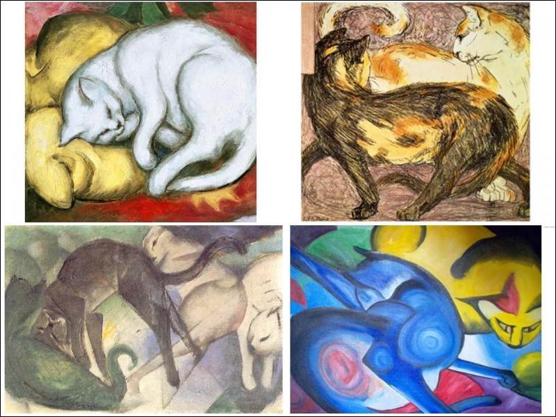 Quel peintre allemand expressionniste a réalisé ces œuvres ?