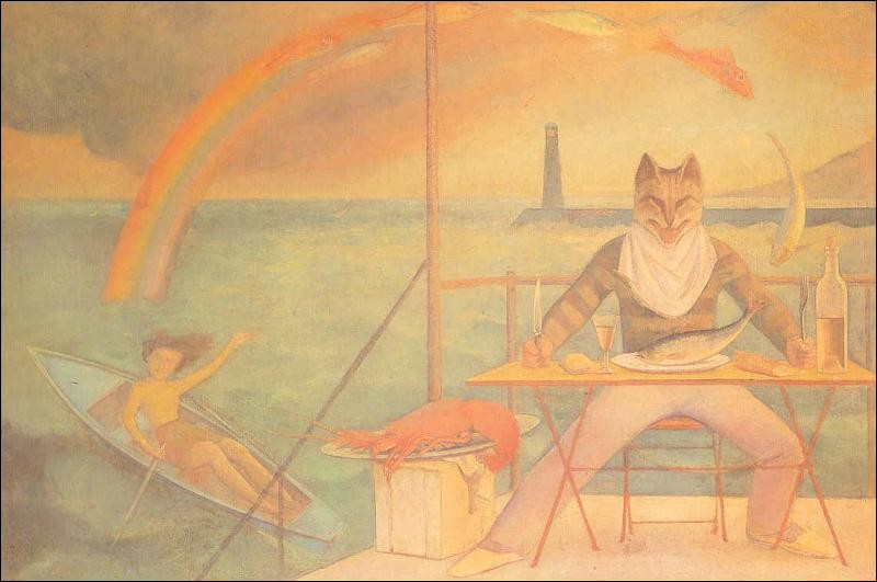 Balthus a peint cette toile intitulée :