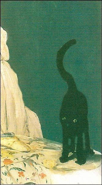De quelle œuvre de Manet, ce détail fait-il partie ?