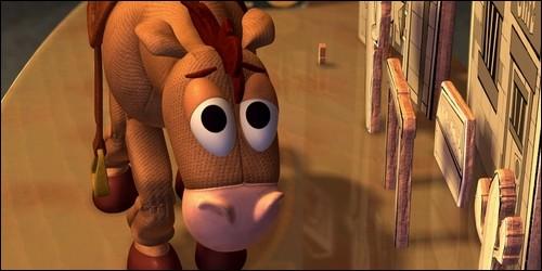 """Comment se prénomme la jeune fille qui accompagne Pile-Poil dans """"Toy Story 2"""" ?"""