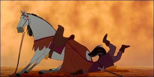 """Dans """"Le Bossu de Notre-Dame"""", Achille est le cheval de :"""