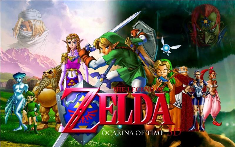 Quels sont les noms de tous les temples alors que Link est enfant ? Il faut les choisir dans le bon ordre !