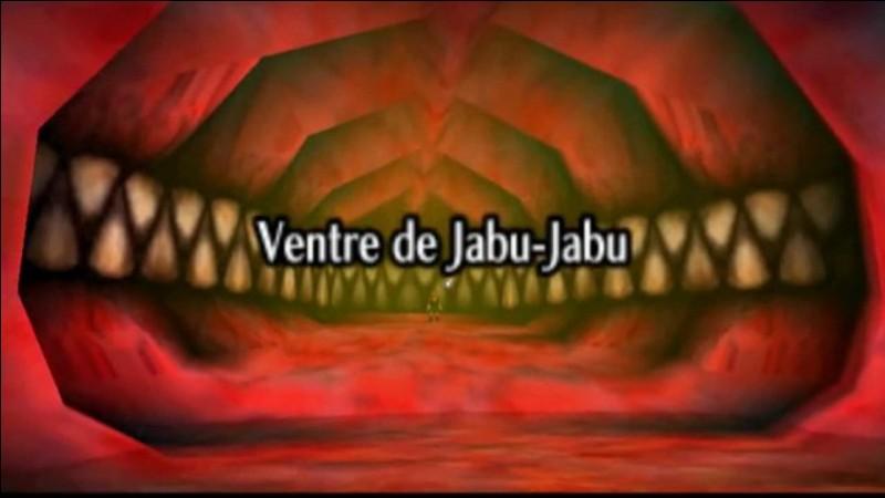 Quel est le nom du boss du Ventre de Jabu-Jabu ?