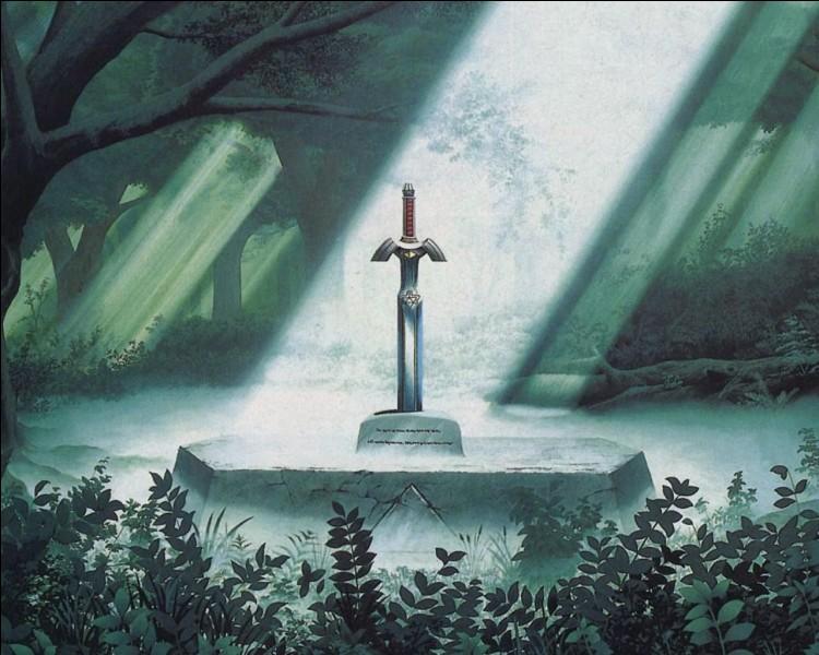 Comment s'appelle l'épée du Temple du Temps ?