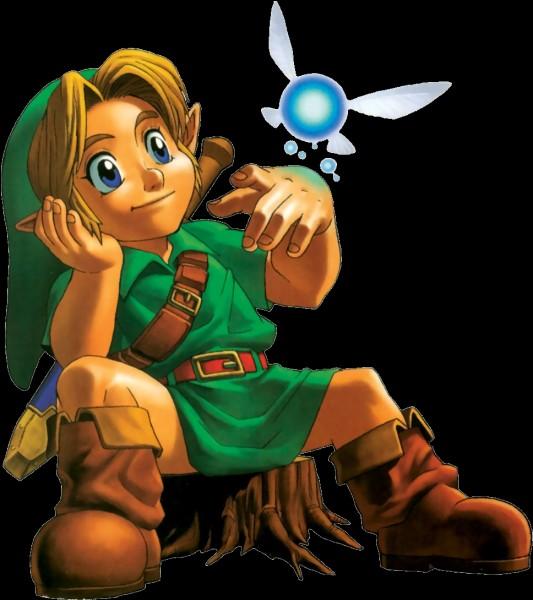 Au début du jeu, par qui Link se fait-il réveiller ?