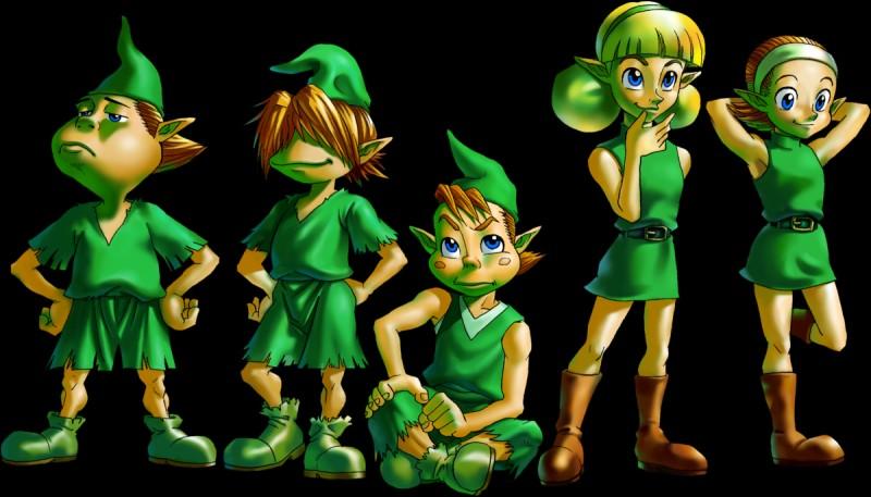 Quelle est la race des premiers amis de Link ?