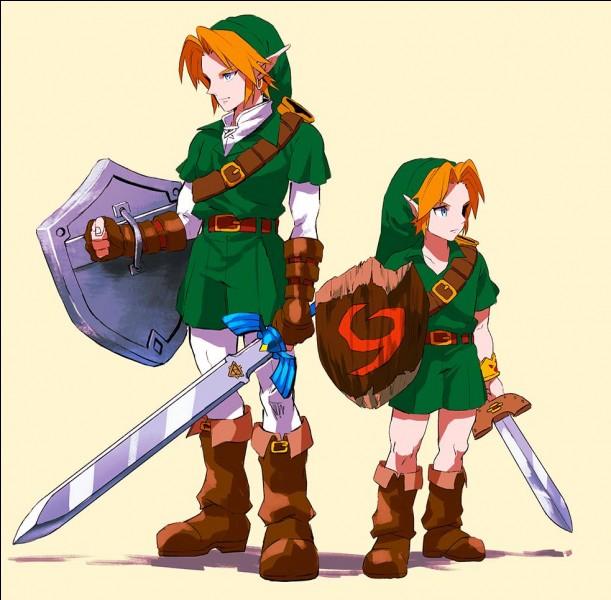 Que doit esquiver Link pour atteindre le coffre avec l'épée kokiri ?