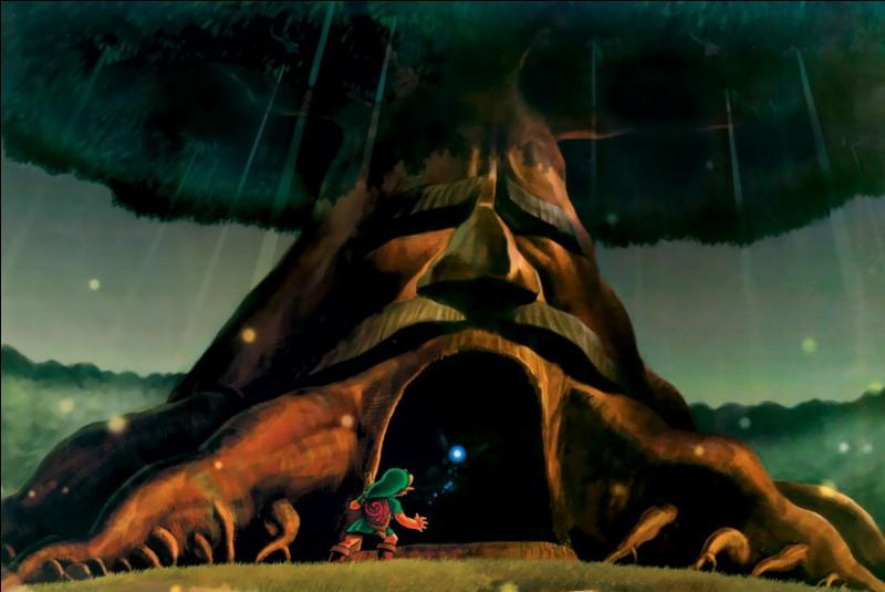 Où se situe le premier temple que Link doit terminer ?