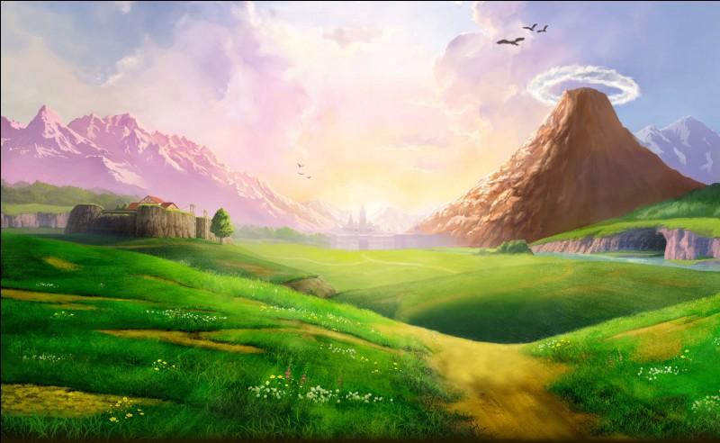 Quelle est la première chose que Link voit en sortant de la forêt Kokiri ? Ne cherchez pas la réponse dans l'image !