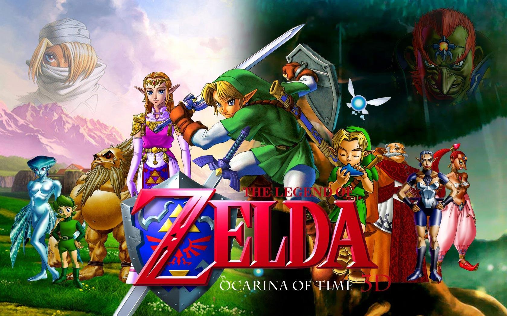 The Legend of Zelda : Ocarina of Time (1)