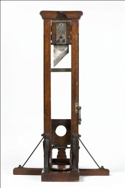 Qui fut le dernier guillotiné français en 1977 ?