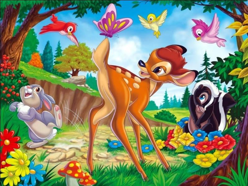 """Comment s'appelle le lapin dans """"Bambi"""" ?"""