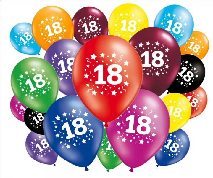 Retrouvez la date où l'âge de la majorité est abaissé à 18 ans ? (en France)