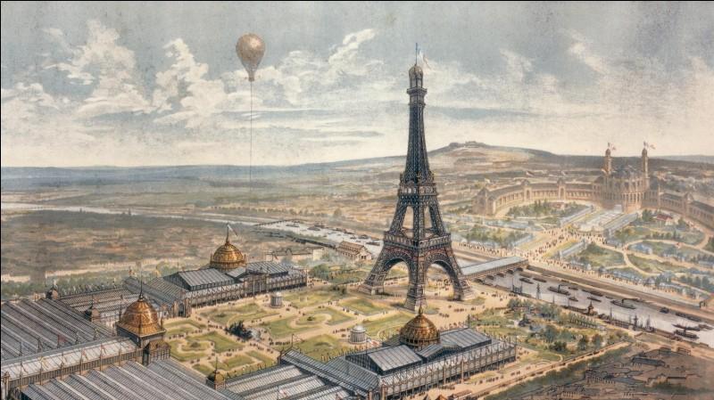 La tour Eiffel fut achevée en :